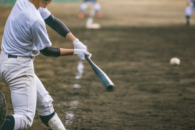 部活、野球